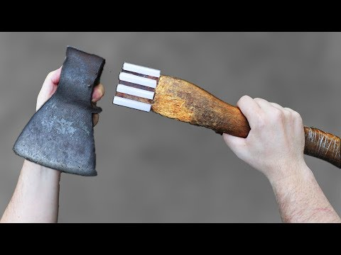 AMAZING Idea With an Ax !