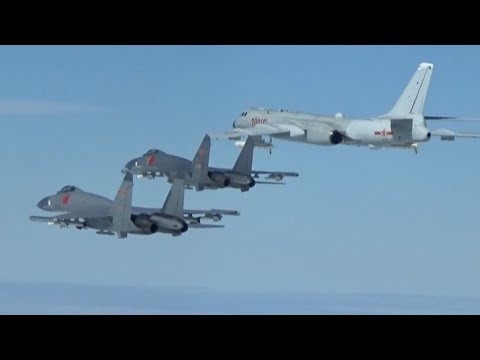 Exclusive: Chinese air force conducts systematic patrols encircling Taiwan Island
