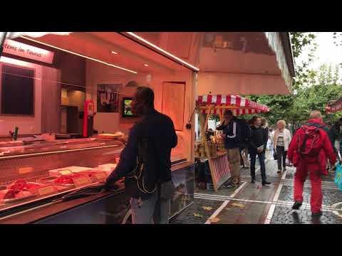 Farmer Market Konstablerwache (Outdoor Grocery Shopping) - Frankfurt, Germany (Frankfurt am Main)