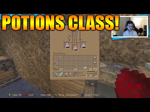 ★Minecraft Xbox - Survival Island - Potions Class Episode 6★