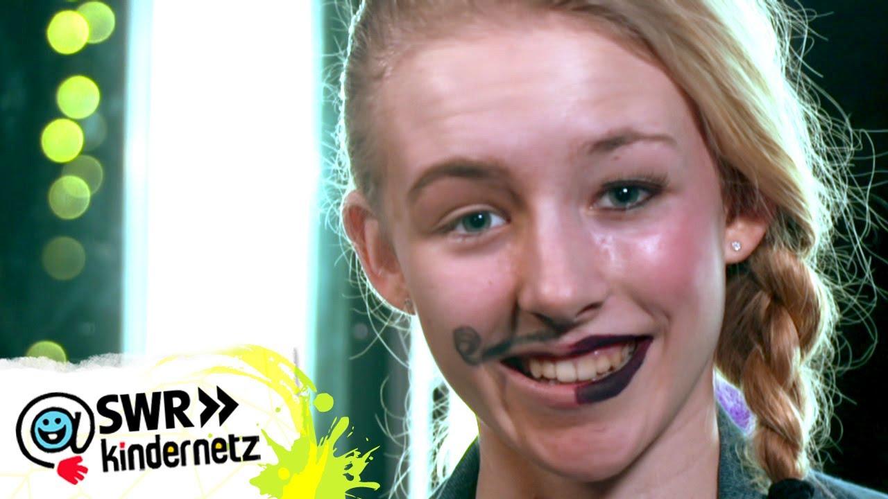 Make up: Halb als Frau und halb als Mann schminken | Du