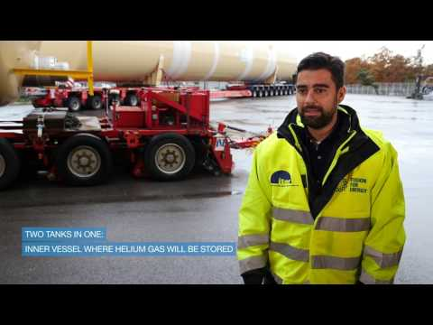 The Delivery of ITER Quench Tanks - November 2016