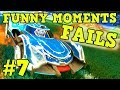 ROCKET LEAGUE FAILS & Funny Moments #7! (Funny Gameplay Compilation)