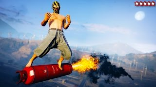 GTA 5 Five Star Survival! - Doing Some Crazy Stuff on GTA 5