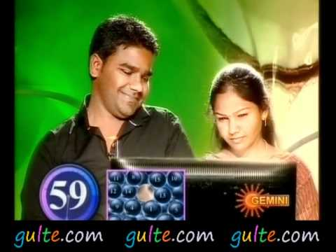Gulte.com - Venu & Sri Latha in Nuvvu Nenu Game Show -1 Travel Video