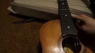 Б/У гитара для обучения. Мои первые шаги.