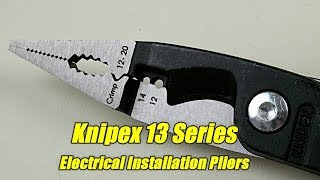 Knipex 13 Series Electrical Installation Pliers