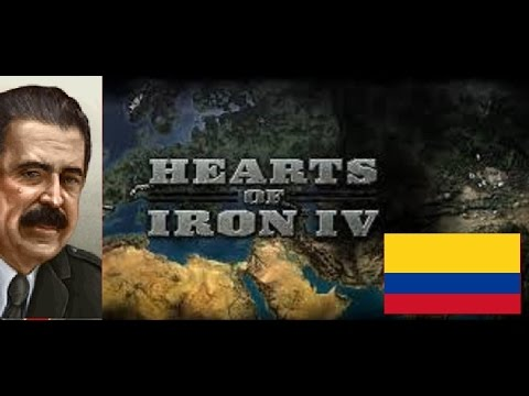 Hearts of Iron IV - Fascist Colombia (mod) 3