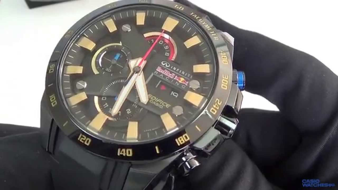 3318b909f767 Casio - Edifice Red Bull EFR-540RBP-1AER - YouTube