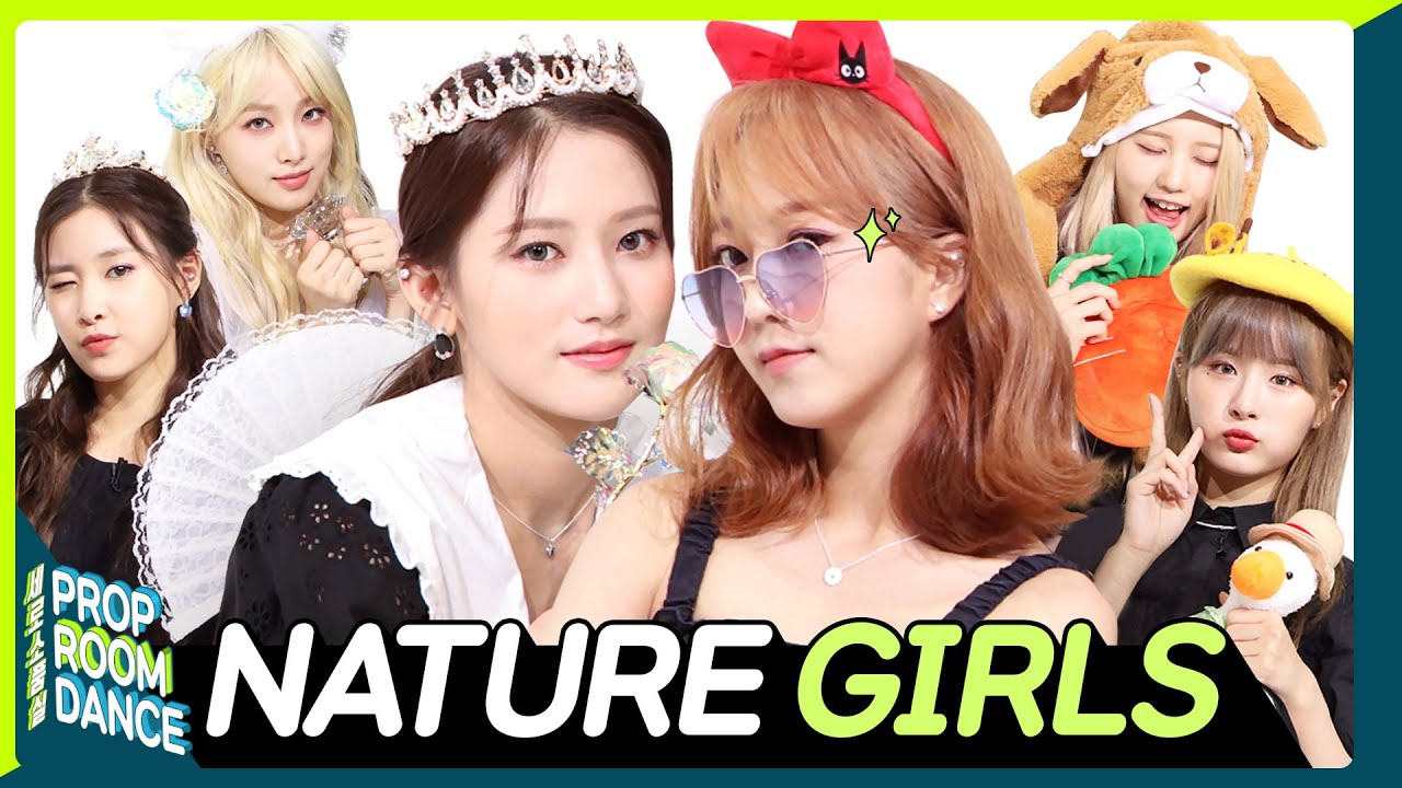 NATURE - GIRLS | PROP ROOM DANCE | 세로소품실