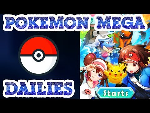 Pokemon Mega Online Game - Gameplay - Doing Dailies / No Commentary
