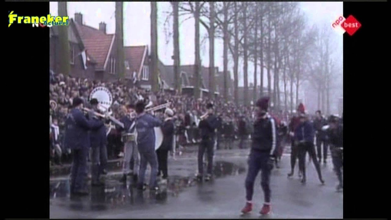 Elfstedentocht 1985 Feest In Franeker Youtube