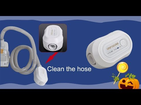 How To Clean Your CPAP Machine With CPAP cleaner - YouTube