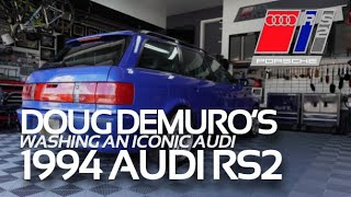 DETAILING DOUG DEMURO'S 1994 AUDI RS2 AVANT /// Before He Purchased It From My Friend Dave