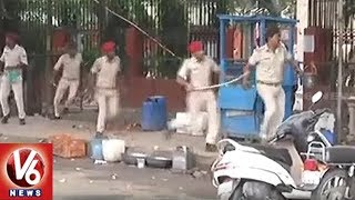 Failed Students Protest Against BSEB | Clash With Police in Patna | V6 News