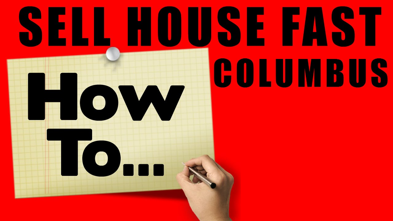 We Buy Houses COLUMBUS OHIO - CALL 614.321.5054 - Sell My House Fast Columbus OH
