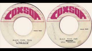 Alton Ellis & The Soul Vendors - Black Man