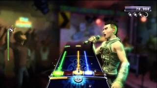 "Rock Band 3 - Dio ""Rainbow in the Dark"" - Expert Guitar - Sightread 5 star (HD)"