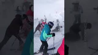 SKIING IS FUN. TAKE THE FAMILY ON A SKI VACATION, THEY SAID IT WOUL...