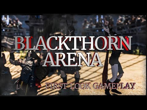 BLACKTHORN ARENA FIRST LOOK - Medieval Gladiator Action-Strategy RPG Game