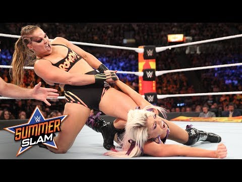 Ronda Rousey thoroughly thrashes Alexa Bliss: SummerSlam 2018 (WWE Network Exclusive)