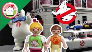Playmobil Novelinha Português Caça Fantasmas da PLAYMOBIL - No cinema -  Família Hauser