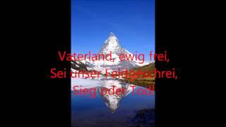 Heil dir Helvetia - alte Schweizer Nationalhymne mit Text
