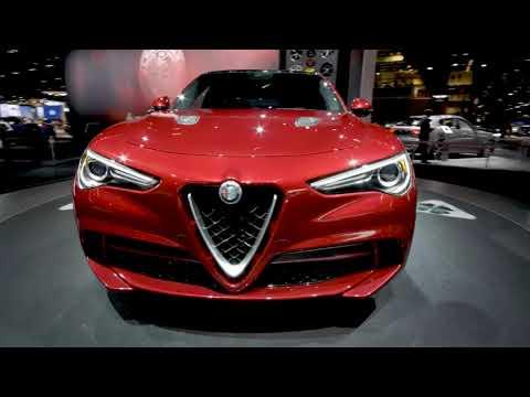 El Alfa Romeo Stelvio SUV y otros autos para el 2018 y 19