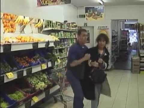 Shoplifting fruit prank