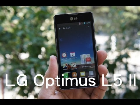 LG Optimus L5 II hands-on (Greek)