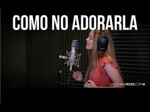 Como no adorarla - Banda Carnaval (Carolina Ross cover) En Vivo Sesión Estudio