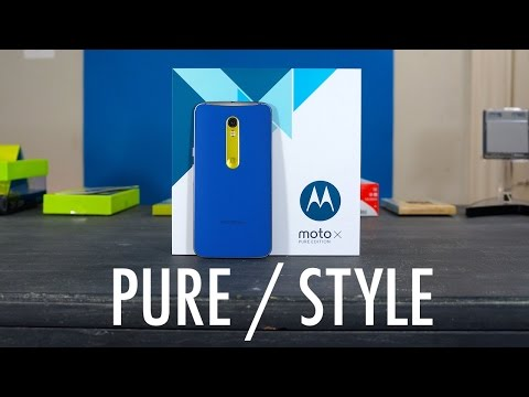 Moto X Style / Moto X Pure Edition Unboxing