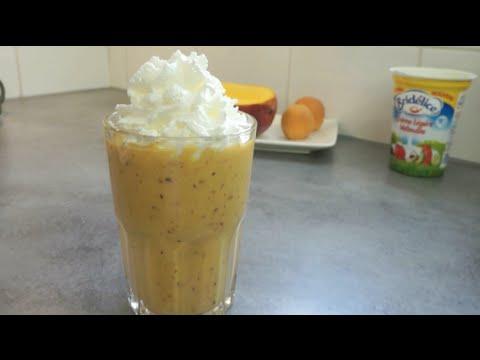recette-:-roulades-au-jambon,-pancakes-myrtilles,-smoothie-crémeux