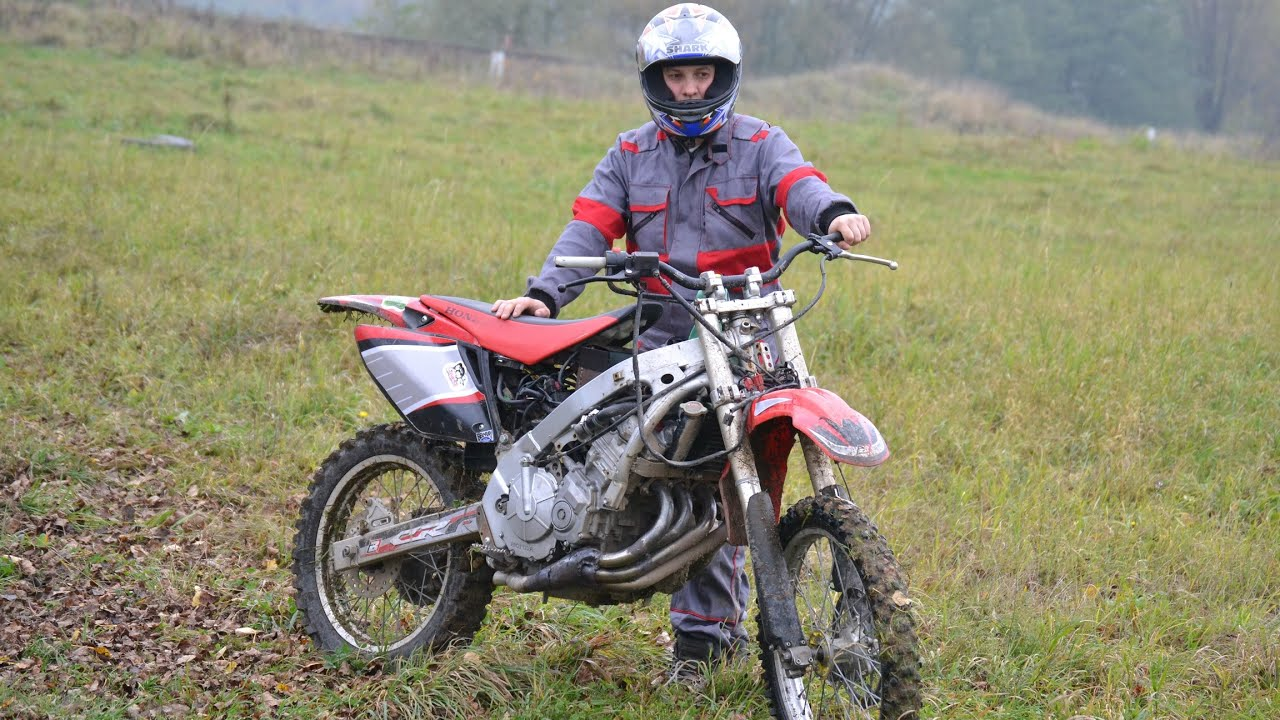 HONDA CRF 600 BUILD CBR MOTOR