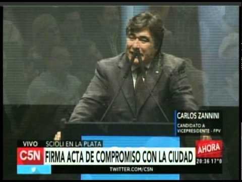 C5N  - Eleccion 2015: Conferencia de Carlos Zannini