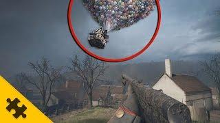 ПАСХАЛКИ: ДОМ В ПОЛЁТ В BATTLEFIELD 1!! НОВАЯ ТАЙНА В Battlefield 1?? (Easter Eggs)