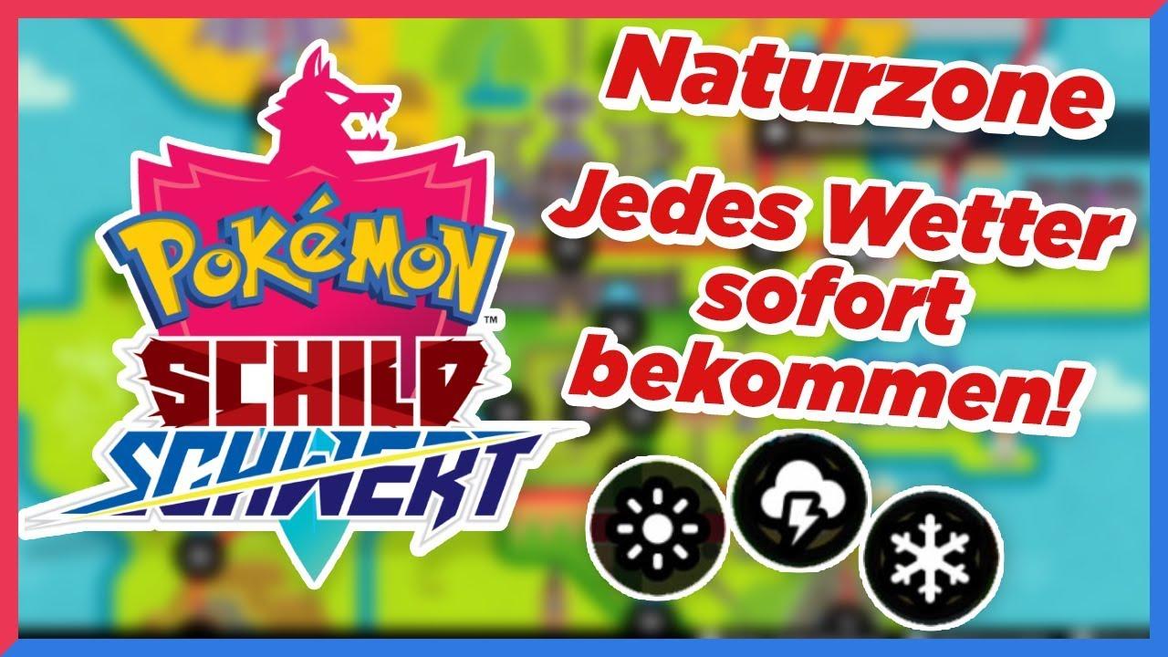 Pokemon Schwert Wetter ändern