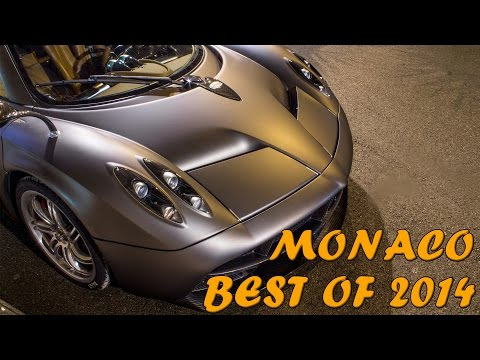MONACO SUPERCARS - BEST OF 2014 (2x Huayra, MC12, LaFerrari, 8x Veyron, etc...) HQ