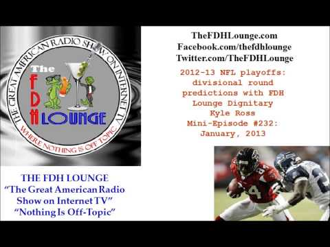 Mini-Episode #232 - January 2013 - 2012-13 NFL Divisional Playoffs picks