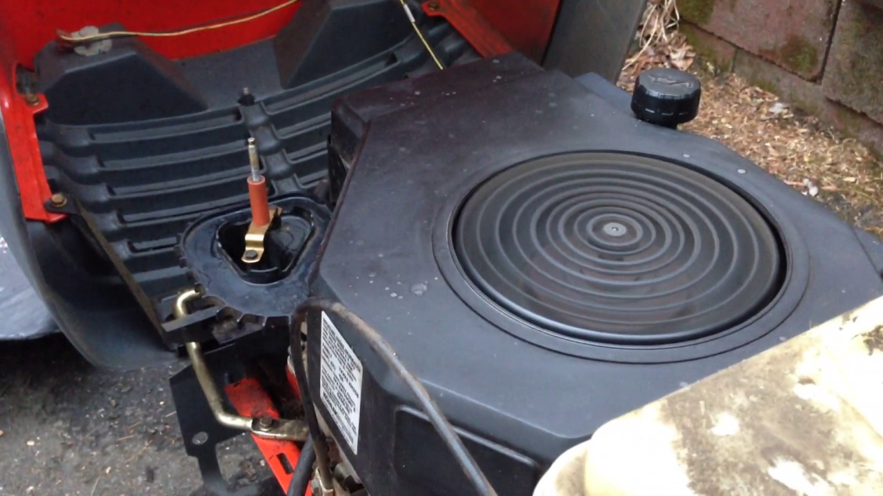 small resolution of surging problem with this kohler cv16s engine on a scotts lawn tractor