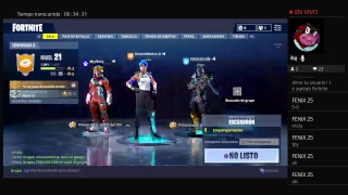 DIRECTO NOCTURNO-Fortnite Battle Royale