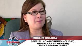 BNTV - Gensan - RONDA BRIGADA - MUSLIM HOLIDAY - DECEMBER 22, 2015