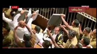 Terrorism in SL Parliament මරා-සිරා ජුන්ටාව පාර්ලිමේන්තුවට ගෙනා ත්රස්තවාදය සහ නිර්භීත කතානායක