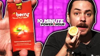 Can Miracle Berries make these meals taste good? - Ten Minute Power Hour