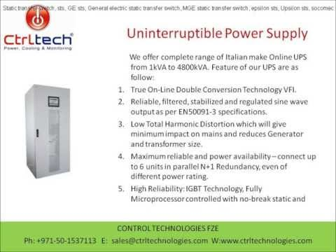 Uninterruptible power supply in Dubai UAE Qatar UPS supplier liebert APC socomect GE UPS G Tec MGE C