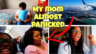 THIS HAPPENED MY MOM'S FIRST TIME FLYING + ITS ALMOST TIME FOR MY PROCEDURE | FAMILY VLOGS