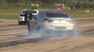 710HP BMW M6 Gran Coupé LA-Performance - Revs, Accelerations, Drag Racing!
