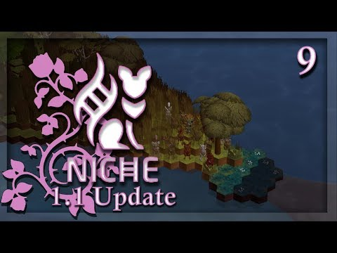 Niche: Let's Play| 1.1 Update | Ep. 9| Discovery of Whale Island!