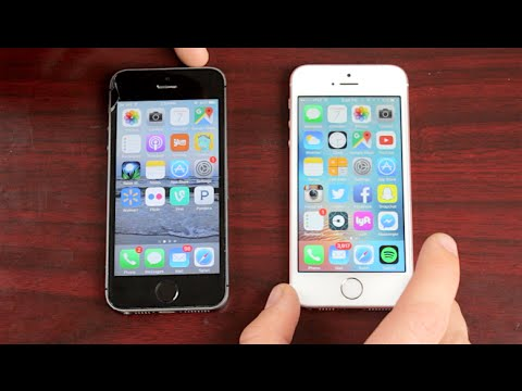 Iphone 5 s vs iphone se