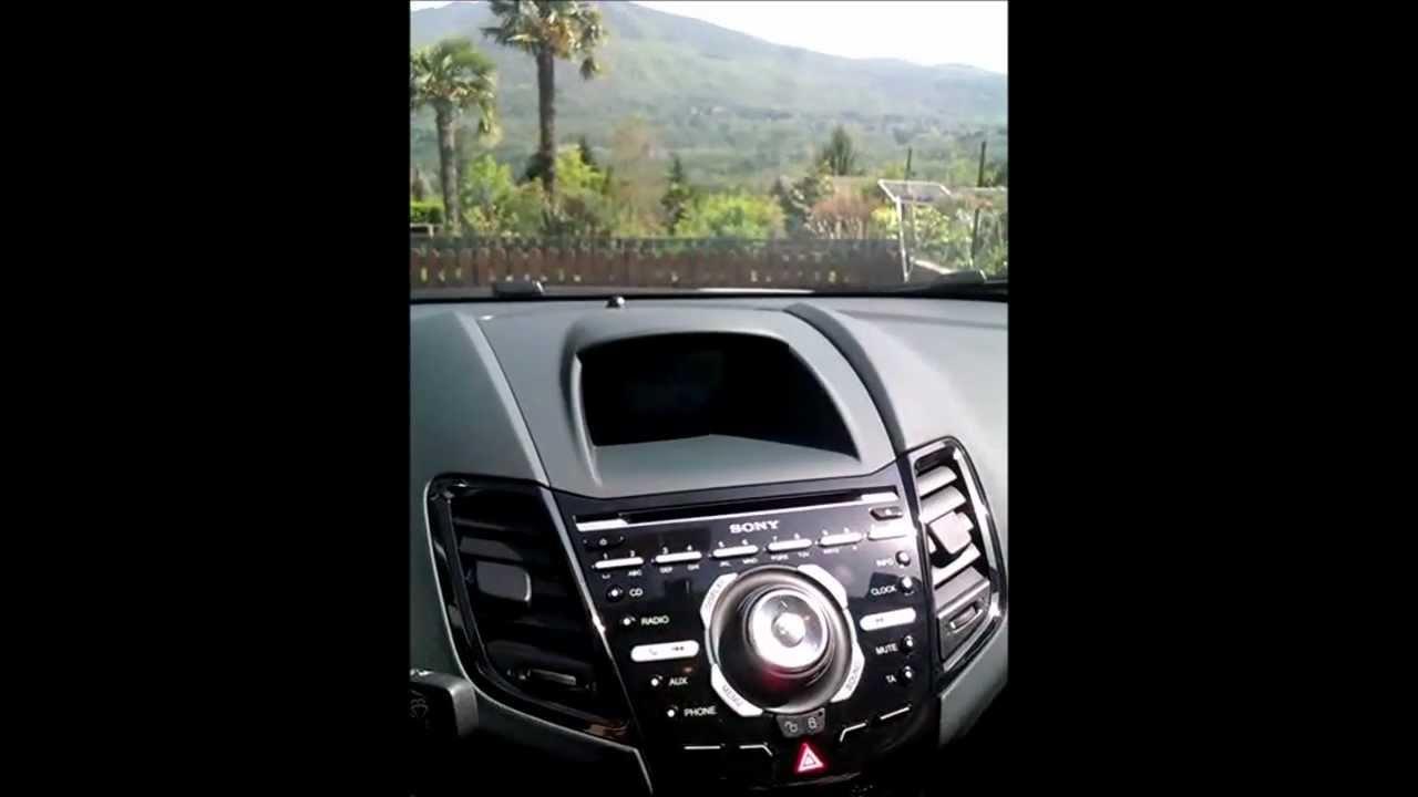 Sony Premium System Ford Fiesta mk7